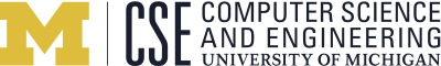 University of Michigan Computer Science and Engineering Logo