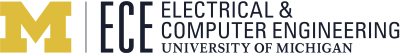 University of Michigan Electrical and Computer Engineering Logo