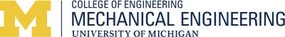 University of Michigan Mechanical Engineering Logo